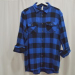 Berna Camicia Coco Royal Blue Black