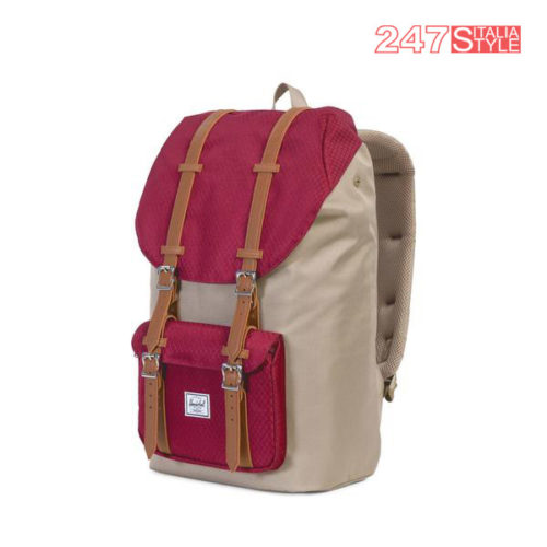 Little America Mid Backpack Brindle-Windsor Wine Prezzo 110 Quantita 2 Pezzi (1)