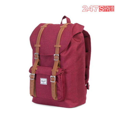 Little America Mid Backpack Windsor Wine Prezzo 110 Quantita 2 Pezzi (1)