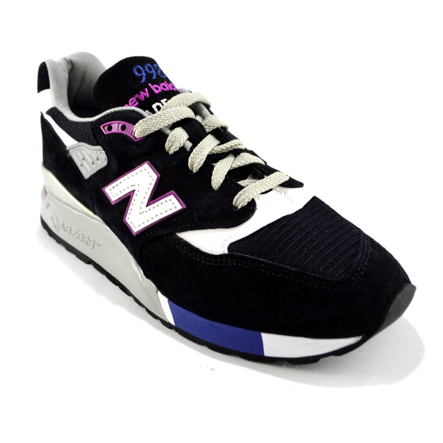 huge selection of 5d082 b405c New Balance 998 BK Made in USA - 247 Italia Style