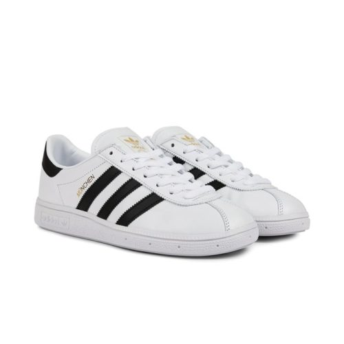 sneakers adidas originals munchen white core black white