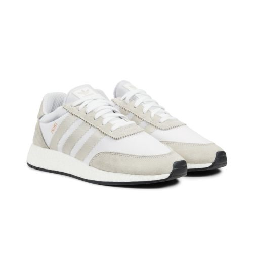 sneakers adidas originals iniki runner white pearl grey core black