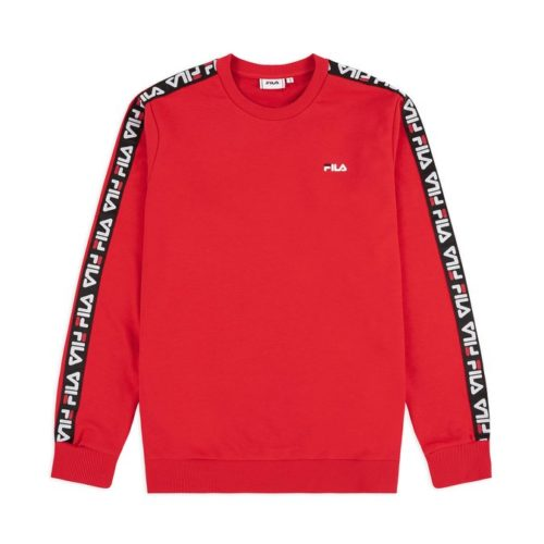 felpe fila aren crewneck true red