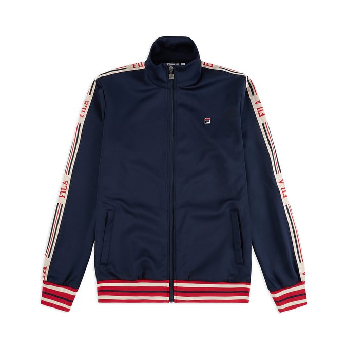 felpe fila lefty track jacket black iris