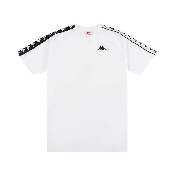 t-shirt-kappa-222-banda-coen-slim-t-shirt-white-black-180846-674-1
